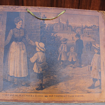Paper Cardboard Lithograph? picture Teachers Aide? French - Posters and Prints