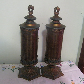 Vintage Electric Lamps what is the Company Name - Lamps