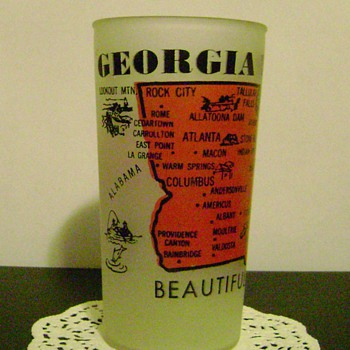 Georgia Souvenir Glass - Glassware