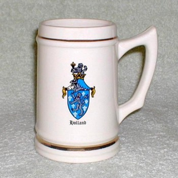 """Holland Crest"" - Ceramic Mug"