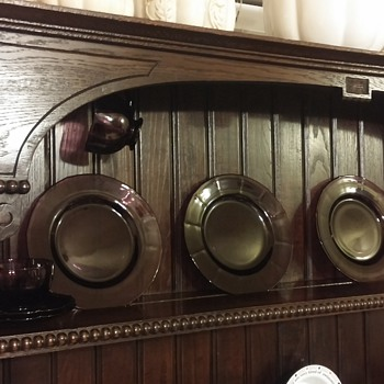 Help! what year do you think my walnut hutch is?  - Furniture
