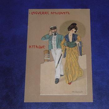 Pre-1914, Art Nouveau Postcard, Raphael Kirchner. - Cards