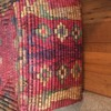 Native Indian Large Rectangle Basket With Lid