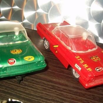 STROMBECKER 1/32 SLOTS BONNEVILLE ,GALAXIE STOCKERS - Model Cars