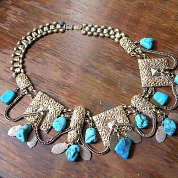 Turquoise Choker - Fine Jewelry