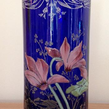 classical Legras' factory vase