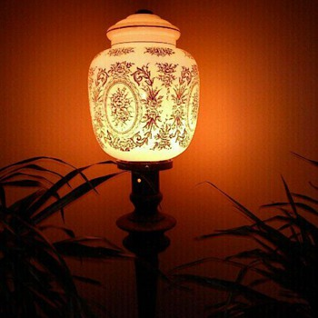 my lamp.... what is this/ its beautiful but i have no clue what it is - Lamps