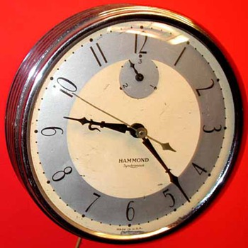 hammond eggtimer wall clock