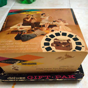 Just came across this View-master Model F lighted viewer and some reels - Photographs
