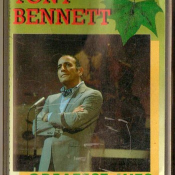 """Tony Bennett"" Cassette Tape - Music"
