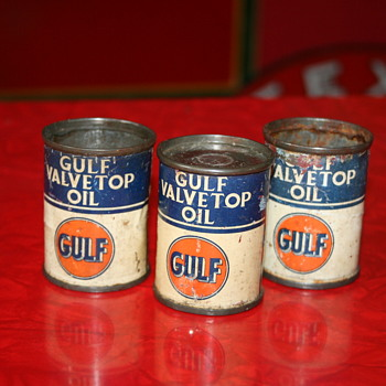 gulf mini oil can - Petroliana
