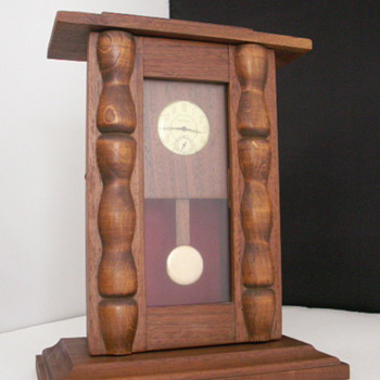 Poor Man&#039;s Column Clock - Clocks