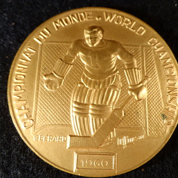 Bronze Hockey Metal