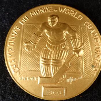 Bronze Hockey Metal