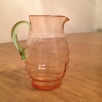 Watermelon Glass Pitcher
