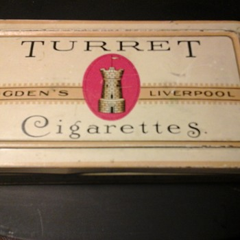 Ogdens Liverpool Turret Cigarette Tin