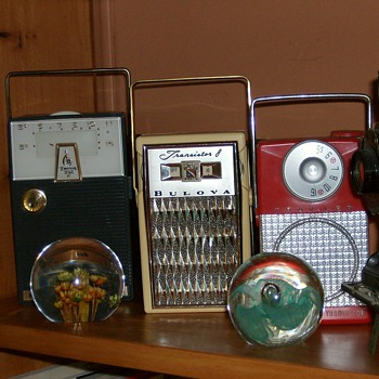 Three Early Transistor Radios