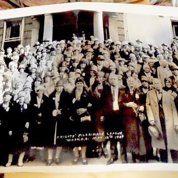 May 12 1929 Washington D.C.. Photograph - Photographs