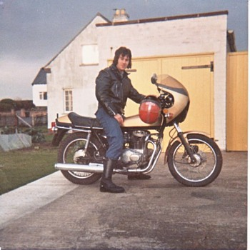 My First Motorcycle, 1977 - Motorcycles