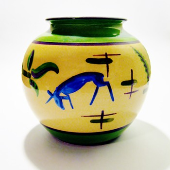 "ERNST GROEBER -BAVARIA,GERMANY /""EFG"" KOCHEL - Art Pottery"