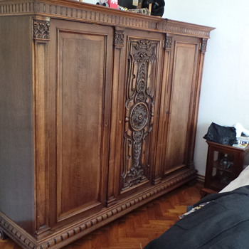 antique wardrobe - Furniture