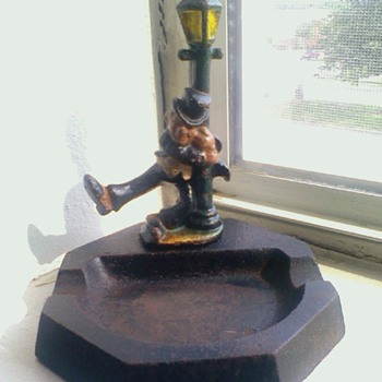 1920's W.C. Fields cigar ashtray & bottle opener