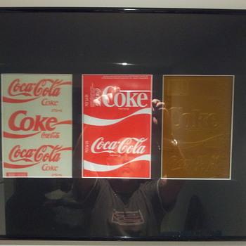 printing  plates - Coca-Cola