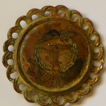 Brooch? Military? Found in With Civil War Artifacts, Appomattox VA area - Victorian Era