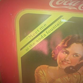 Coca Cola Tray