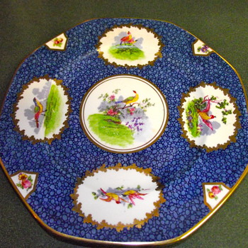 Crescent & Sons China Plate with Pheasants - China and Dinnerware