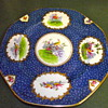 Crescent & Sons China Plate with Pheasants