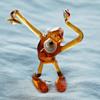 Happy New (Lunar) Year to CW! Art Glass Monkey Figurine