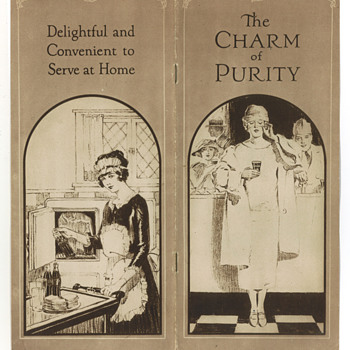1924 Coca-Cola The Charm Of Purity Booklet