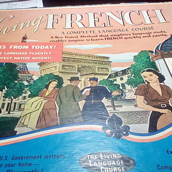 Living French on Vinyl - Records