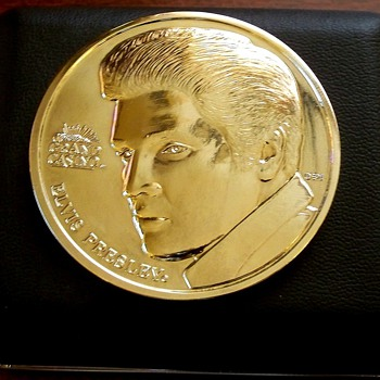Grand Casino Elvis Presley Memorabilia Coin - Music