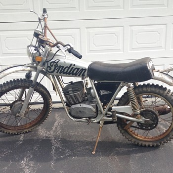 Farm fresh barn find - Motorcycles
