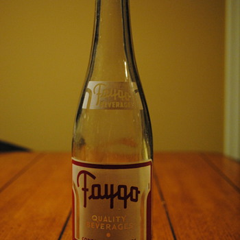 1940&#039;s Faygo Bottle-Detroit, MI