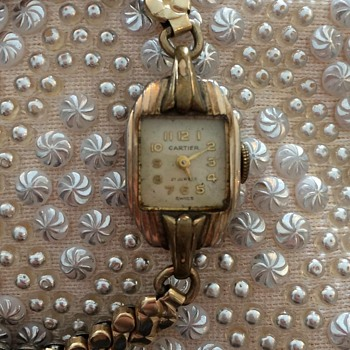 Antique Cartier Ladies Watch - Wristwatches