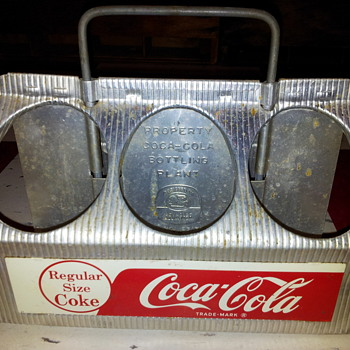 1950&#039;s Alumn Coke Carriers - Coca-Cola
