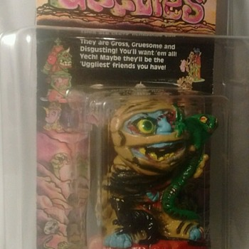 1986 Creata Ugglies Figure !! Sealed !