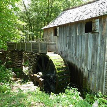 A Old Grist Mill Photo Just taken near my house  - Photographs