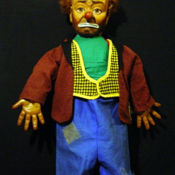 Emmett Kellys Willie the Clown 1950&#039;S - Dolls