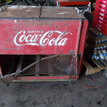 Westinghouse Coca Cola Chest Cooler