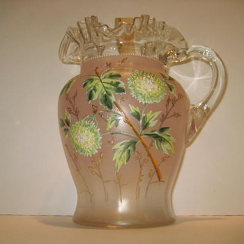Glass Pitcher - Art Glass