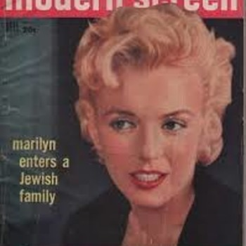 Modern Screen Nov 1956 Marilyn Monroe  - Paper