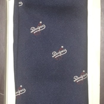 Los Angeles Dodger Tie