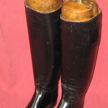 Vintage Abercrombie & Fitch Co. Equestrian Riding Boots with Original Lasts