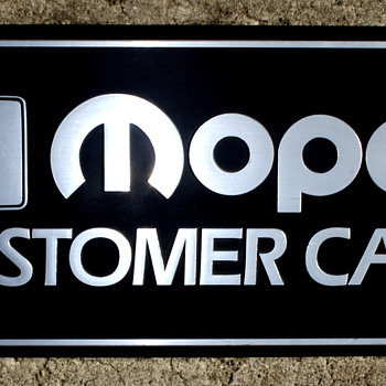 MOPAR  Service Sign