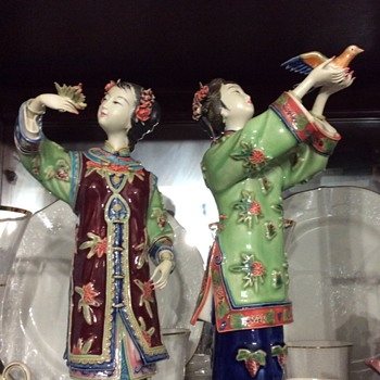 Shiwan figurines