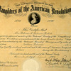 My Wifes great Gramndmothers Dar Certificate 1909